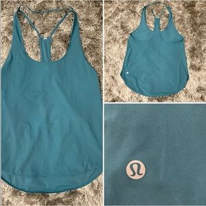 Lululemon Green Tank Top